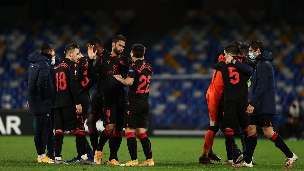 Sorteo muy duro para los equipos españoles en Europa League: Real Sociedad-Manchester United, Salzburgo-Villarreal y Granada-Nápoles