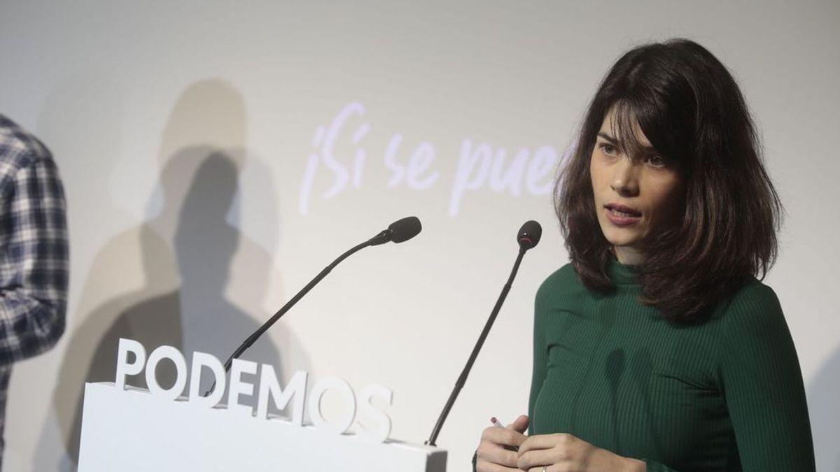 Isa Serra, portavoz del Podemos