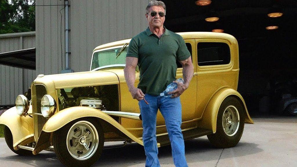 El garaje de Sylvester Stallone: Los coches de Rambo, Rocky y Cobra