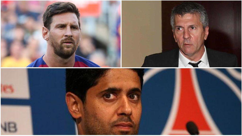 """El padre de Messi vuelve a desmentir cualquier contacto con el PSG: """"Otro invento más"""""""