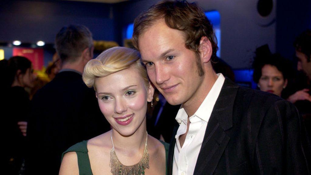 Uno de los primeros novios conocidos de Scarlett fue Patrick Wilson.