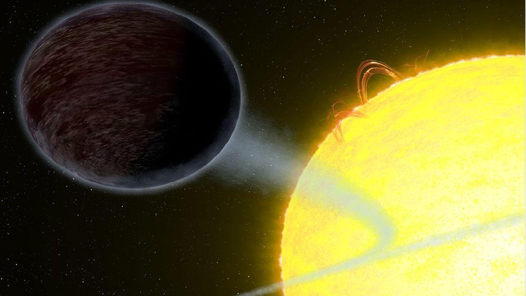 Muerte inminente del planeta gigante negro: el 'Júpiter caliente' se acerca a su Sol