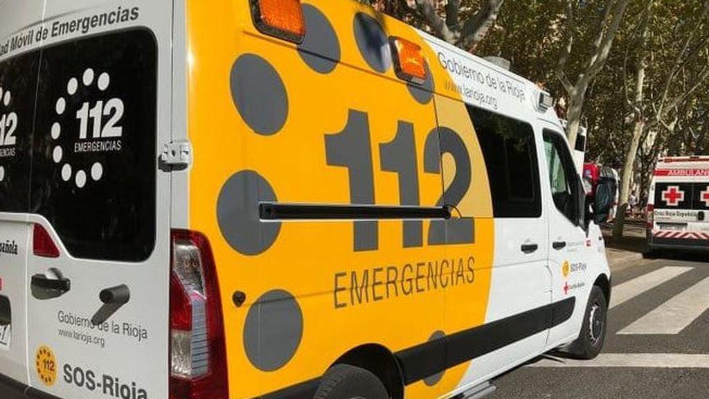 Mueren dos jóvenes de 16 y 18 años en un choque entre una ambulancia, un turismo y una furgoneta en La Rioja