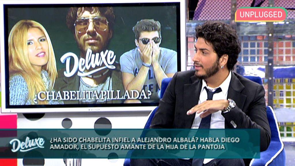 Diego Amador en el 'Deluxe'
