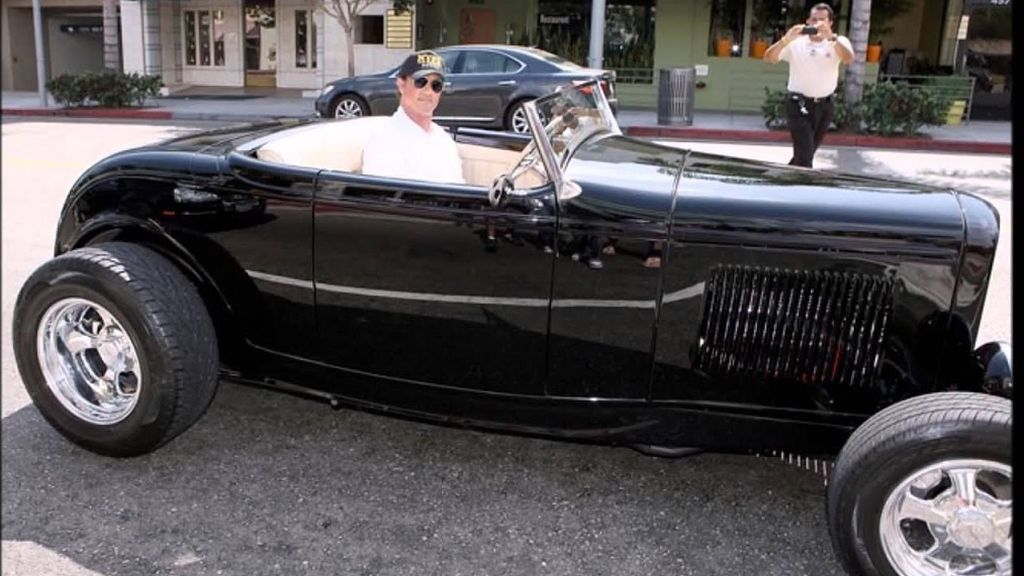 Highboy hot rod 1932 Stallone