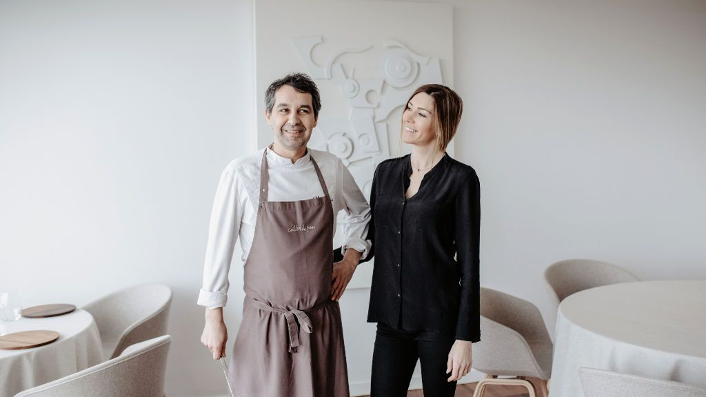"""Javier Olleros, chef de Culler de Pau, tras recibir dos estrellas Michelín: """"Estamos felices y emocionados"""""""