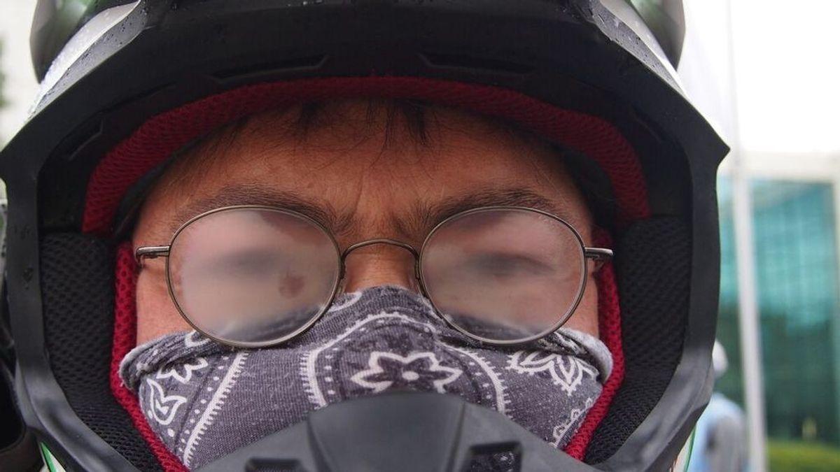 Alertan del peligro de las gafas empañadas por las mascarillas