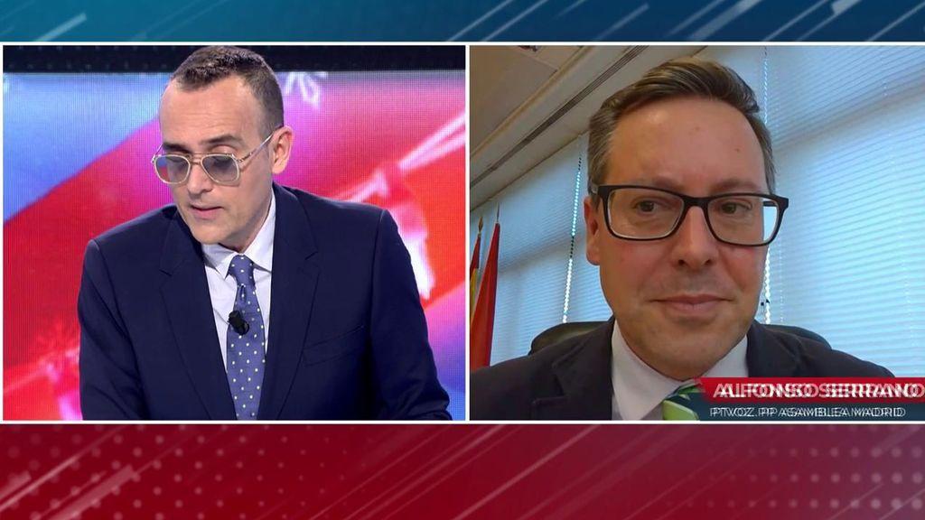 Alfonso Serrano, del PP, aclara las dudas del hospital Zendal