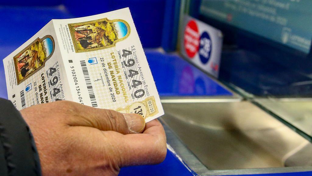 Si me toca la lotería, ¿cuánto tengo que pagar a Hacienda? Los impuestos al sorteo de Navidad, por premios