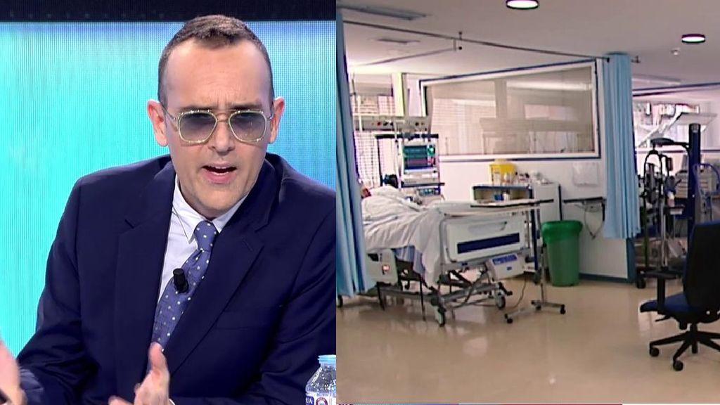 Risto Mejide no da crédito con el hospital Zendal