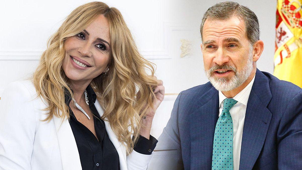 """Marta Sánchez, sobre el rey Felipe VI: """"Para mí es un orgullo que en esa época le gustara, yo le conocí cuando teníamos muy poca edad"""""""