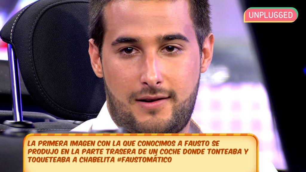Fausto Cabrera en 'Sálvame'
