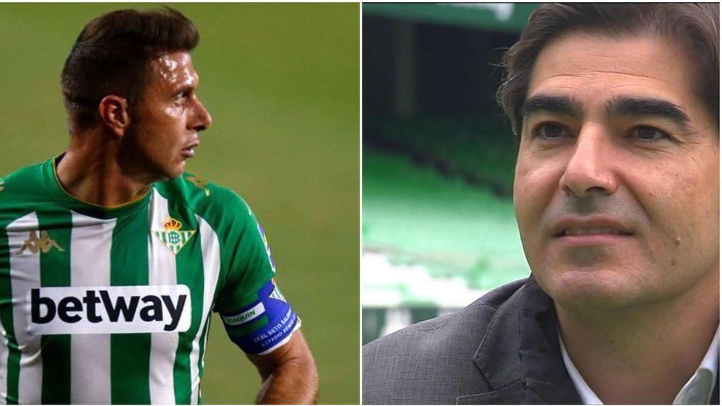 """Ángel Haro agradece el apoyo de Joaquín de cara a la junta de accionistas del Betis: """"Fue el mensaje de un gran capitán"""""""