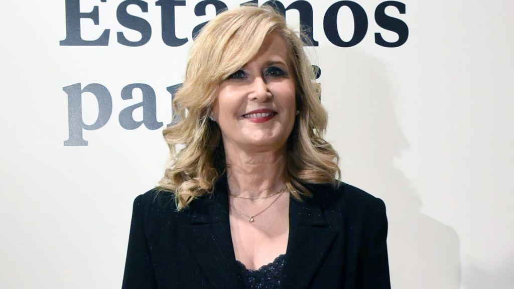 Nieves Herrero, periodista y presentadora de televisión