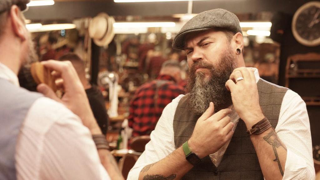 Mario Melgra, de Bearbero, habla sobre las canas en la barba
