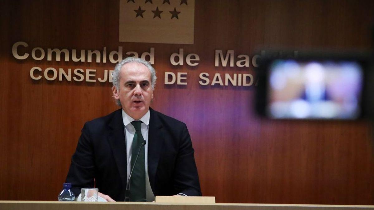 Madrid sigue empeorando sus datos, con 2.452 casos nuevos, y anuncia nuevas restricciones para Navidad