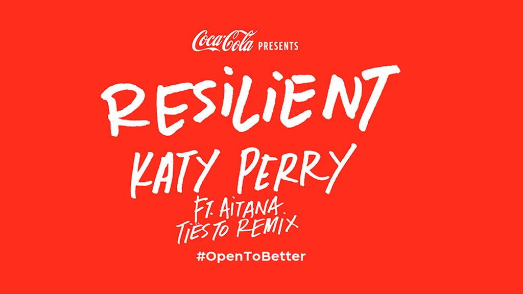 """Coca-Cola y Katy Perry se unen para crear el remix """"Resilient"""": el productor/DJ Tiësto y la cantante española Aitana colaboran en él"""