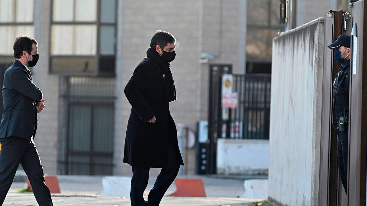Trapero vuelve a la Audiencia Nacional para estar en el juicio por los atentados de Barcelona y Cambrils