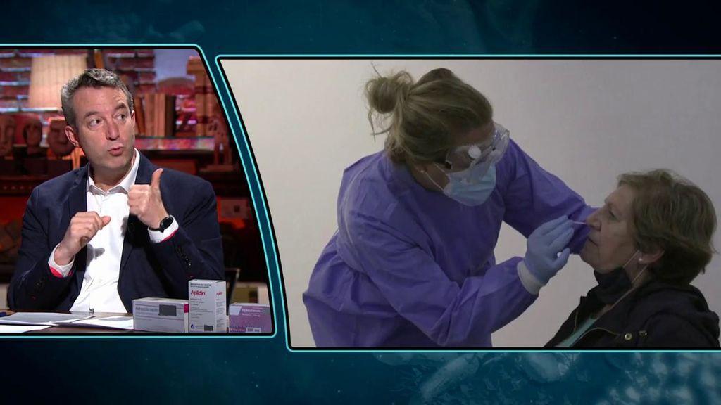 El doctor Carballo defiende los autotest del coronavirus