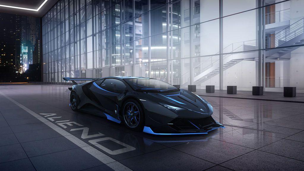 Alieno Arcanum: el deportivo de estética futurista con 5.000 CV
