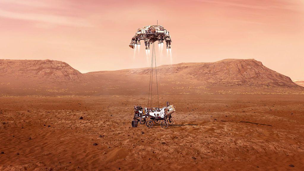 Marte alberga un reservorio de hielo de agua casi pura