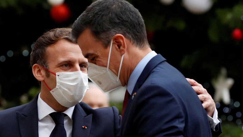 Macron y Sánchez