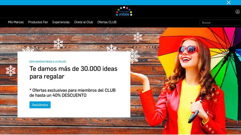 Mediaset España lanza el Centro Comercial Mitele, un marketplace de productos de primeras marcas, ocio y merchandising con ofertas exclusivas para los abonados a Mitele PLUS