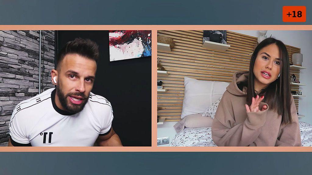 Cristian Atm y Alba se sinceran como nunca sobre su relación y acaban discutiendo (2/2)