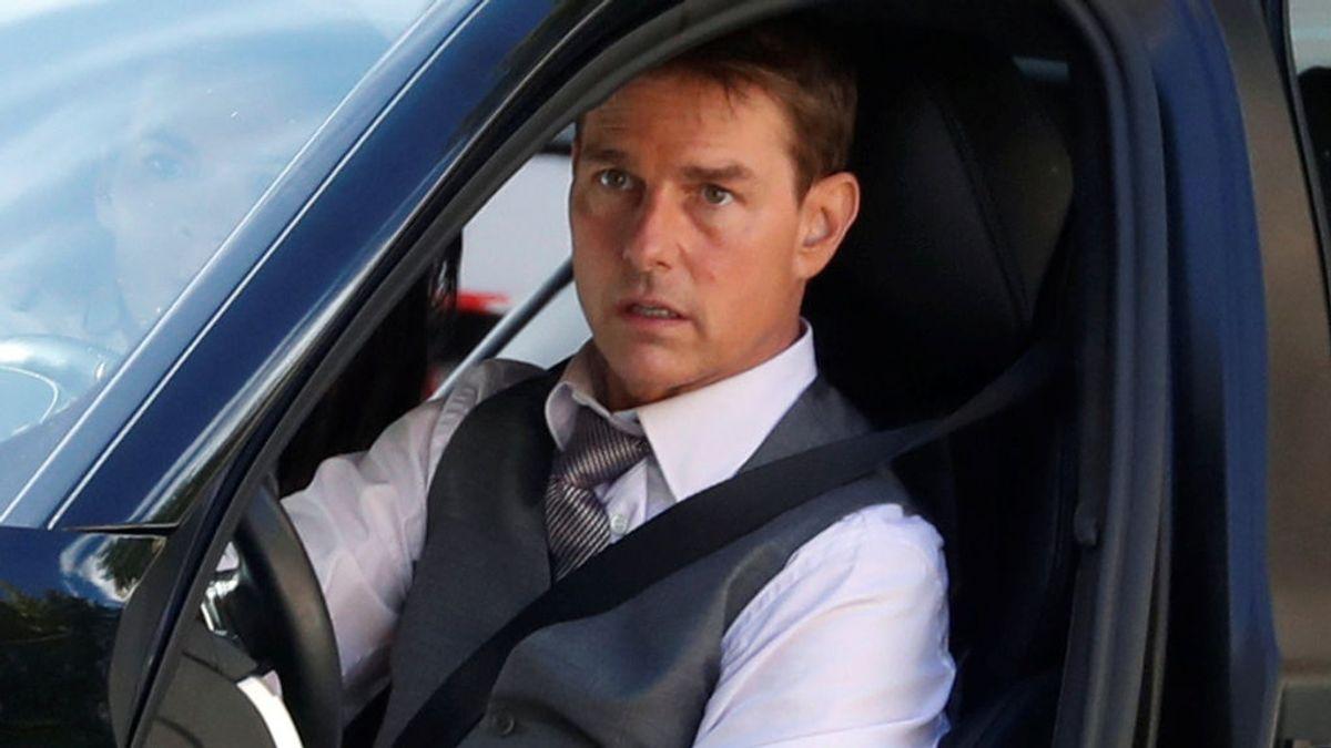Tom Cruise, en el rodaje de 'Misión imposible 7'