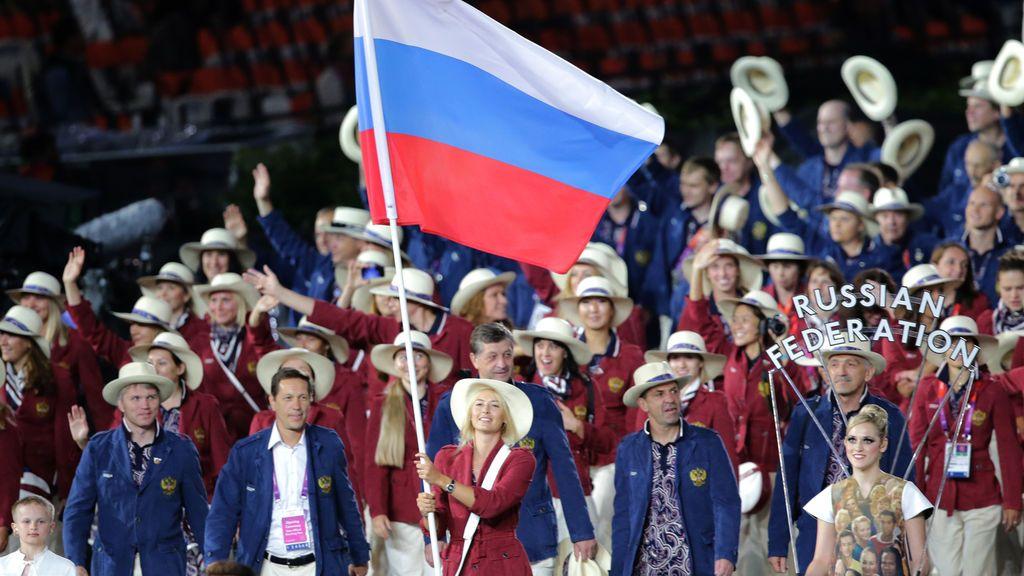 Equipo ruso Juegos Olímpicos Londres 2012