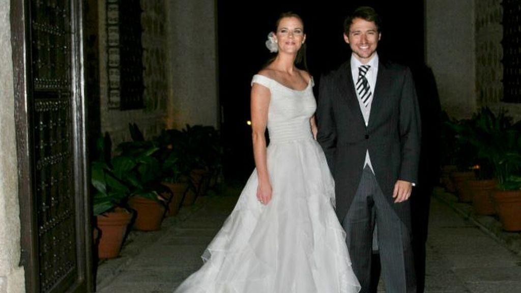 Manuel y Amelia se casaron en una multitudinaria boda en Toledo.