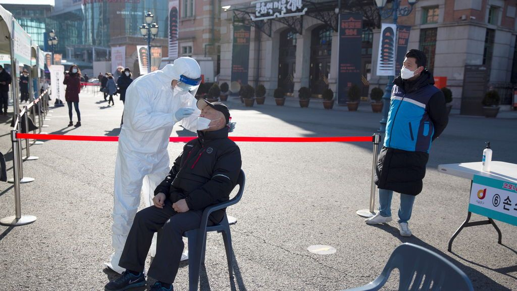 Récord de muertes en Corea del Sur por coronavirus en la segunda ola