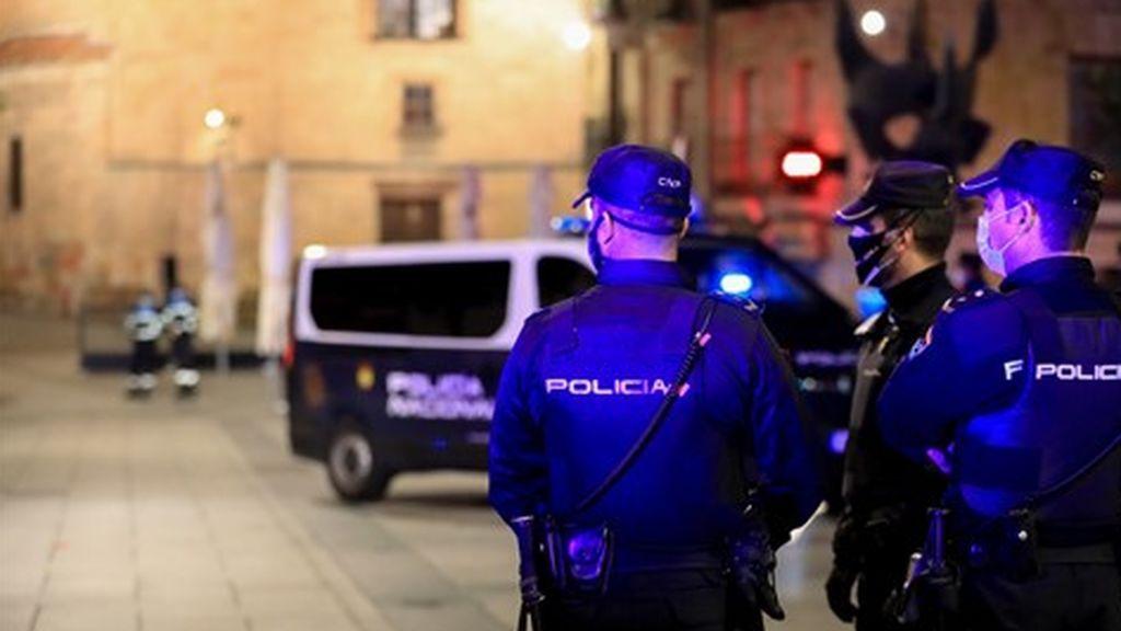 Más de 100 denuncias en la nochevieja universitaria de Salamanca