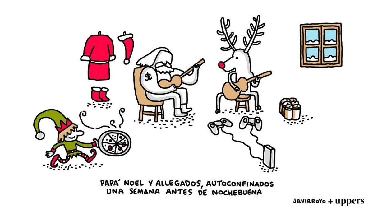 La viñeta de Javirroyo: Papá Noel y allegados