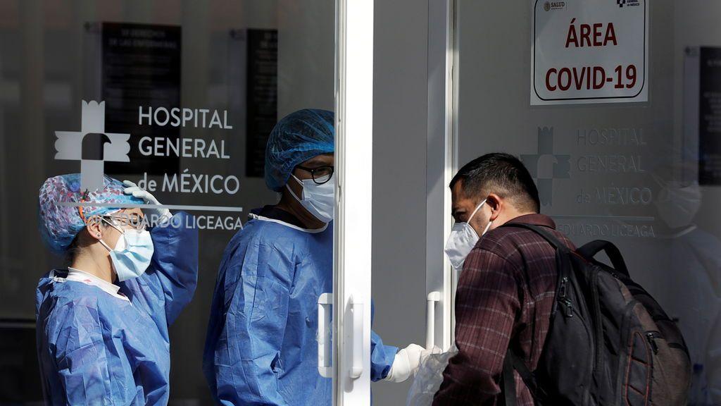 """México """"al borde"""" del colapso hospitalario por el coronavirus"""