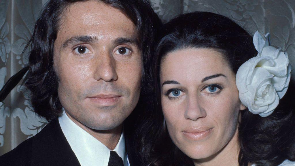 Raphael y Natalia Figueroa pasaron por el altar en 1972.