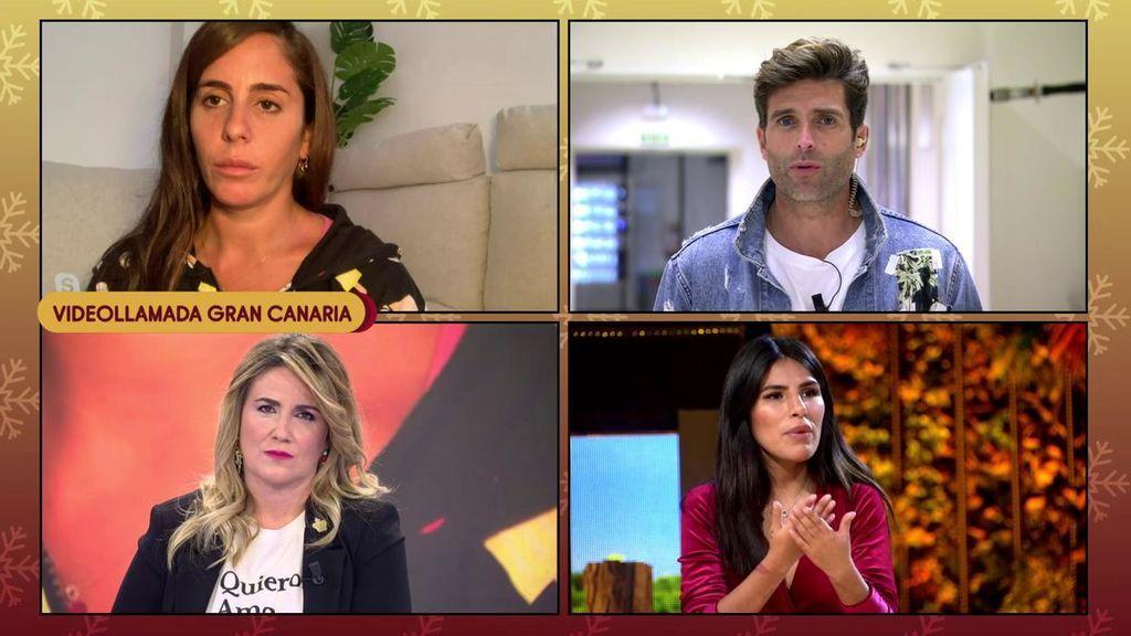 """Anabel Pantoja se enfrenta a Efrén Reyero: """"Fuiste cebando programa tras programa"""""""