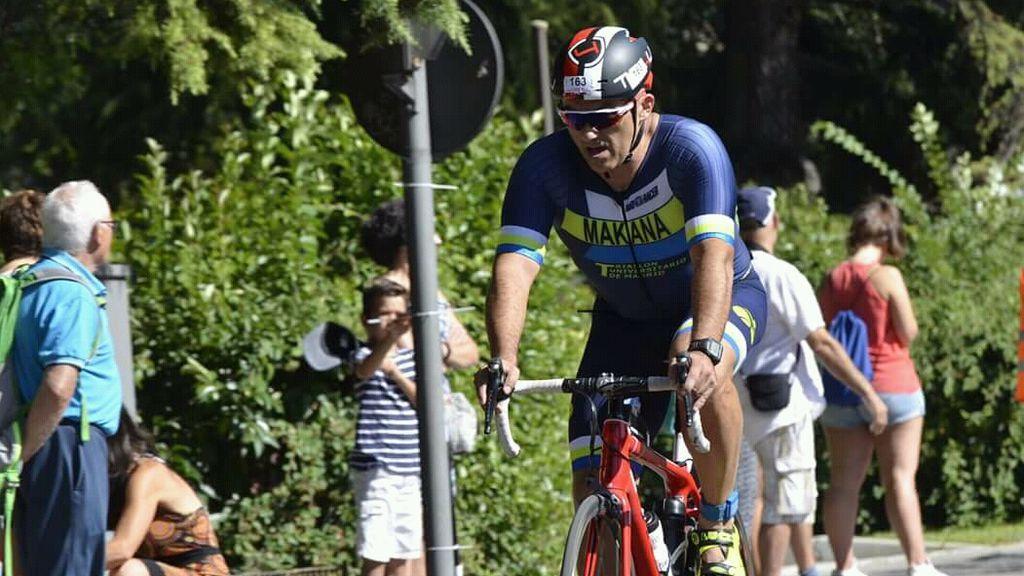 Jesús Roldán, de 53 años y Ironman
