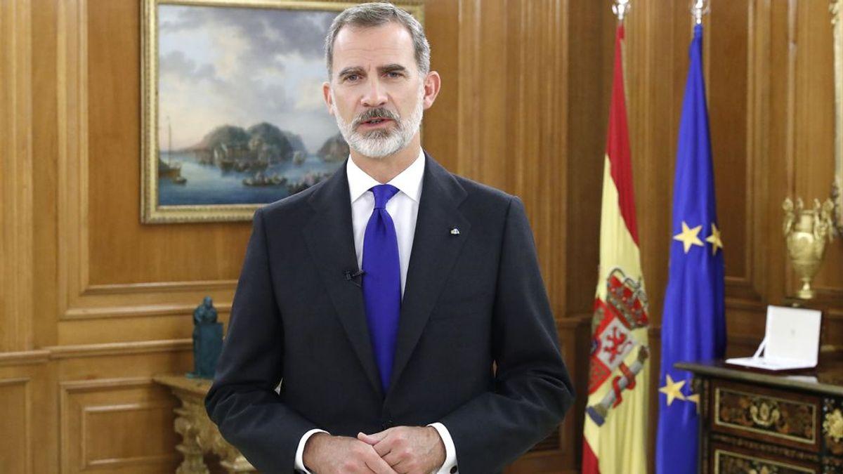 La mención a su padre, la gran incógnita del discurso de Navidad de Felipe VI