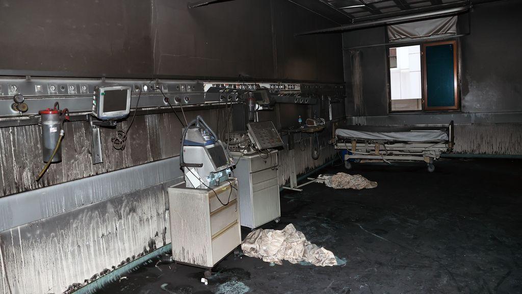 Once los muertos por el incendio ocurrido en una UCI de pacientes covid en Turquía