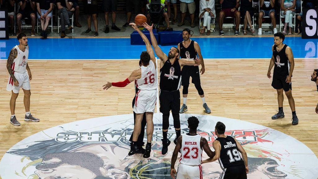 Posiciones necesarias en un equipo de baloncesto