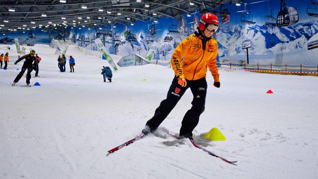 Listado con las pistas de esquí cubiertas de Europa