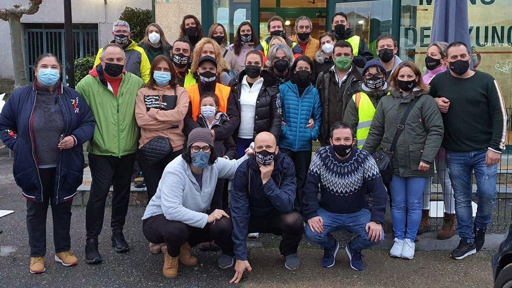 Los hosteleros de Pontevedra llegarán mañana al Congreso tras caminar más de 575 kilómetros
