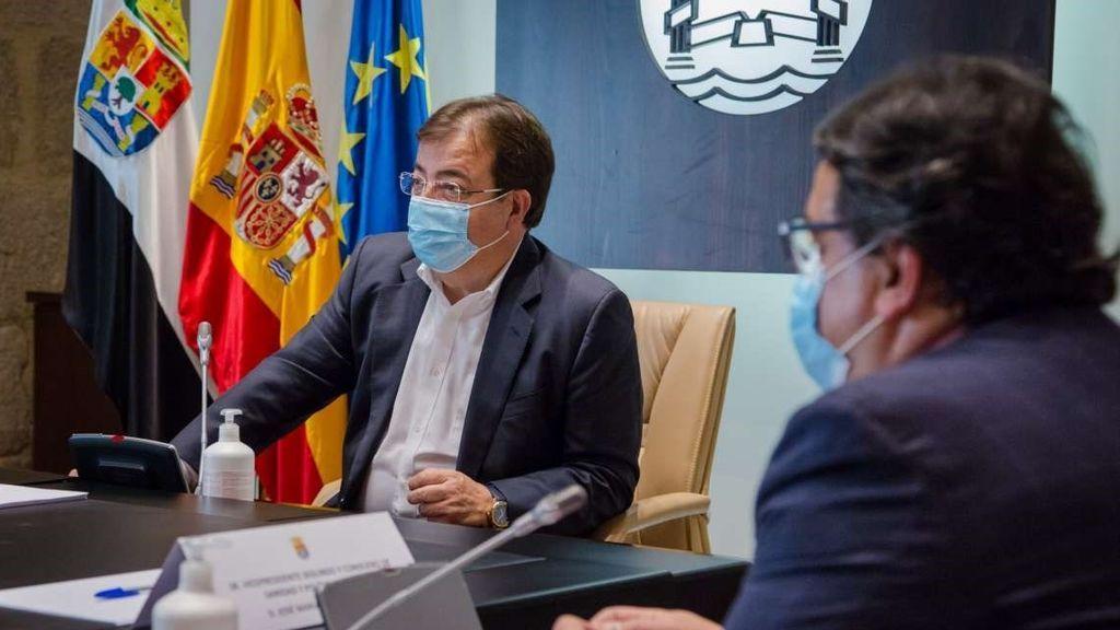 Extremadura anuncia ..... para frenar la propagación de la Covid-19