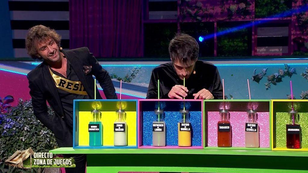 Mahi y Rafa se convierten en los segundos finalistas de 'La casa fuerte 2' ganando la prueba con más estómago