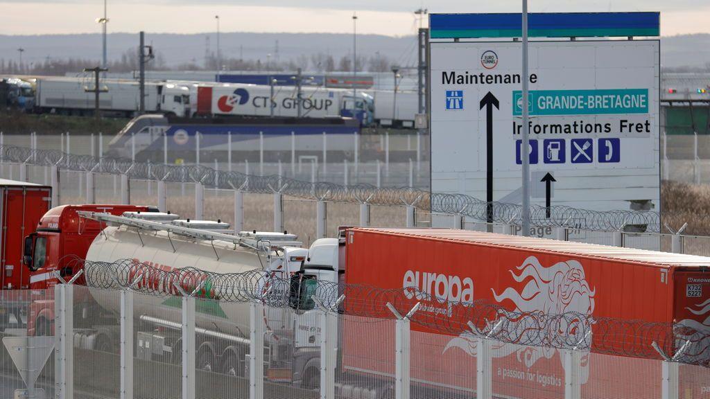 El eurotúnel, también cerrado por la nueva cepa