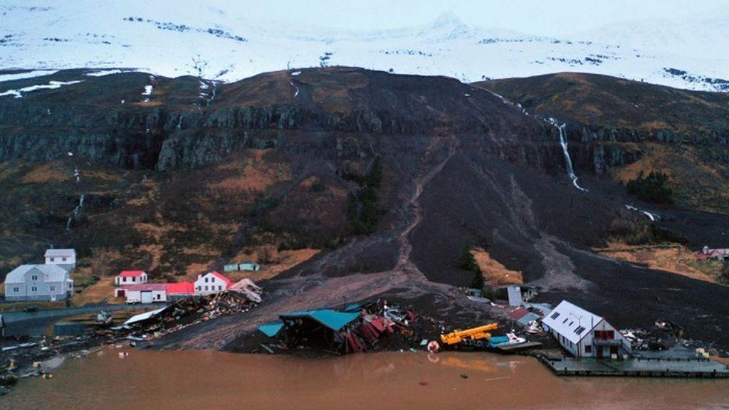 Al menos 10 casas a la deriva: deslizamientos de tierra en Islandia por más de 500 l/m2 de lluvia