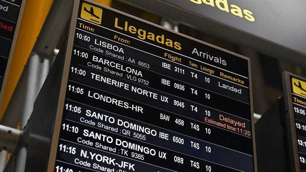 España mantiene 200 vuelos diarios con Reino Unido