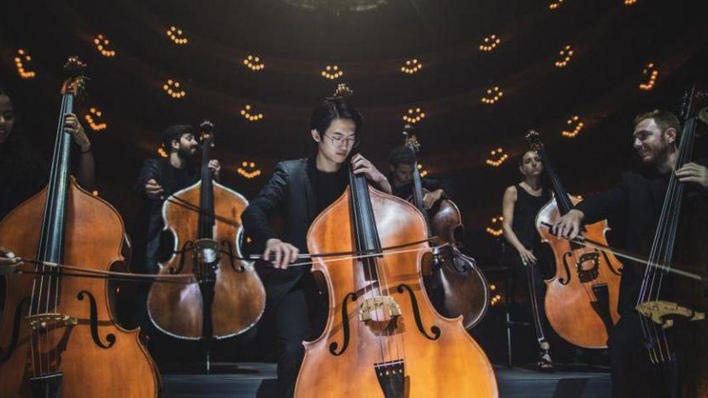 'Symphony', el espectáculo que permite al público estar dentro de una orquesta gracias a la tecnología