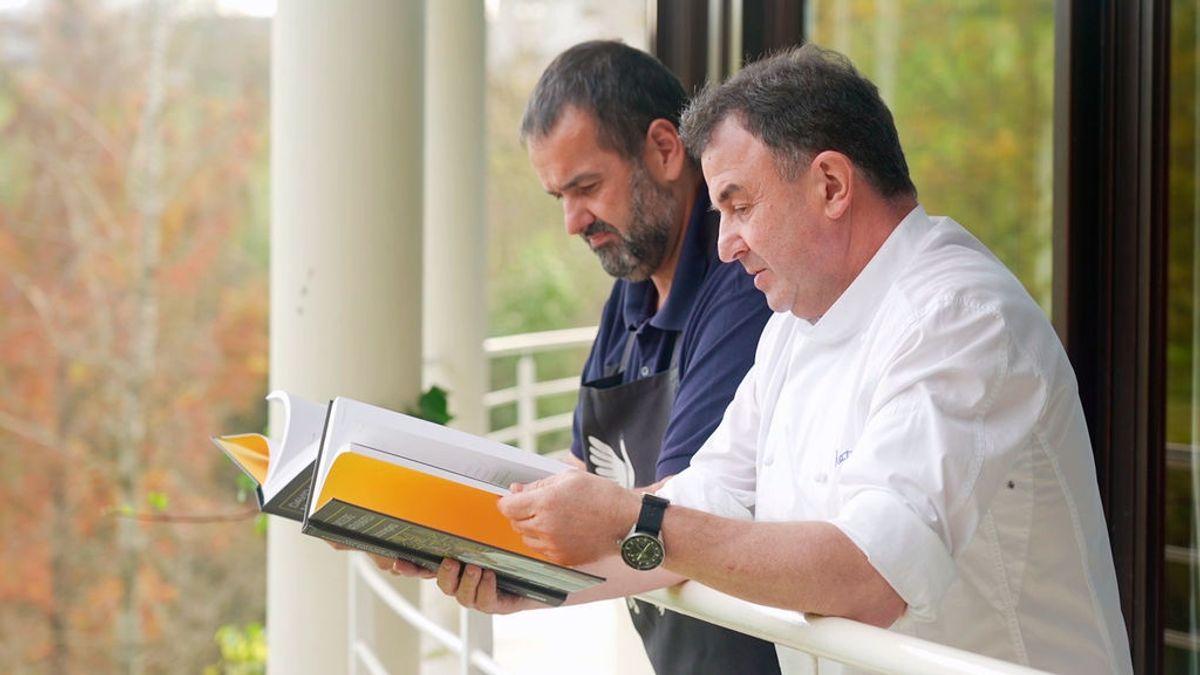 David de Jorge y Martín Berasategui, dos 'disfrutones' en un libro